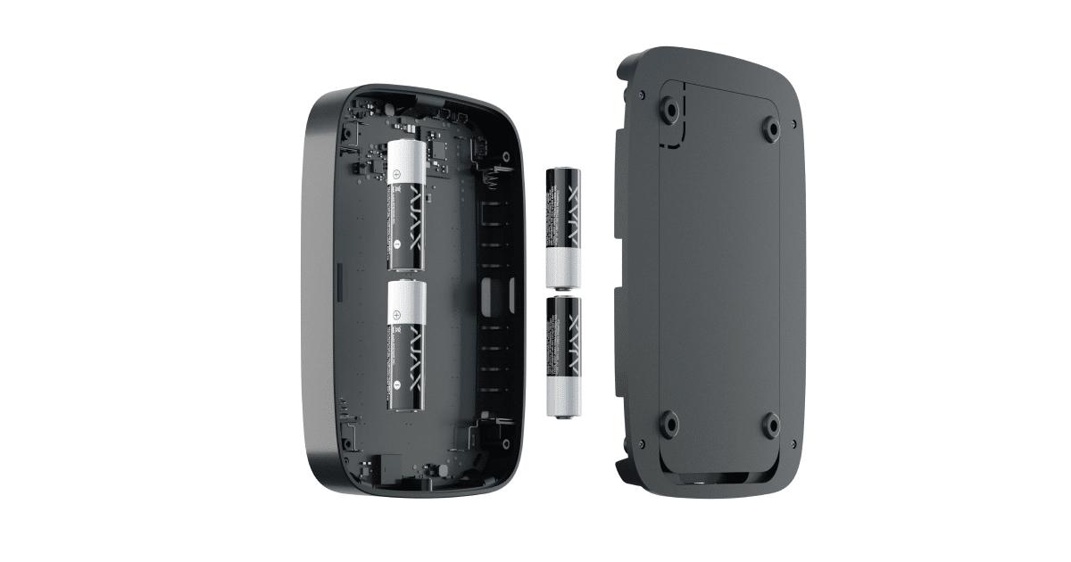 Batterie et autonomie Keypad+